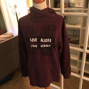 Love Alaska hoodie
